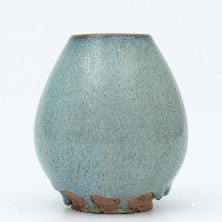 """A """"jun"""" glazed jar"""