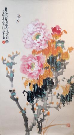 趙少昂 花卉