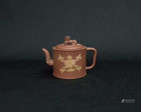 清中期-紫砂壺