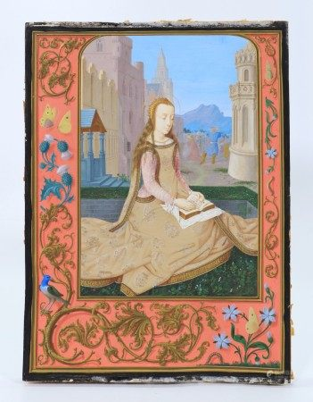 Book of Hours ca 1500 Flemish Martyred Saint