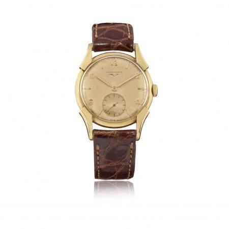 GOLD LONGINES REF. 5653, CIRCA 1949