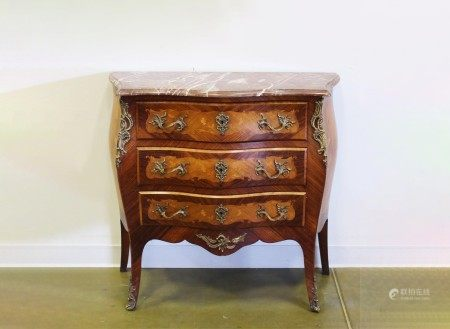 Vintage French Louis XV Style Commode