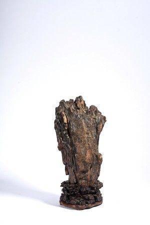 Chinese Petrified Wood Scholar's Rock
