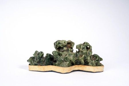 Chinese Green Scholar's Rock