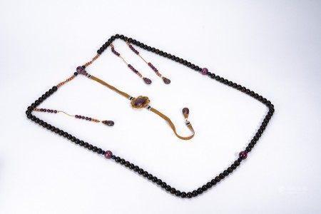 Chinese Aromatic Sandalwood Bead Necklace