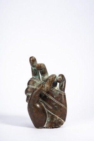 Chinese Bronze Buddha's Hand