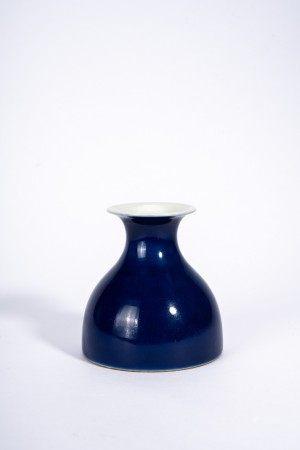 Chinese Sacrificial-Blue Glaze Vase