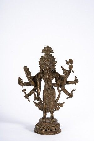 Copper Alloy Figure of Ganesha