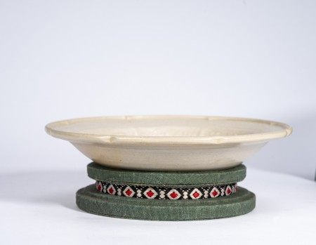 Chinese Ding Kiln Moulded Dish