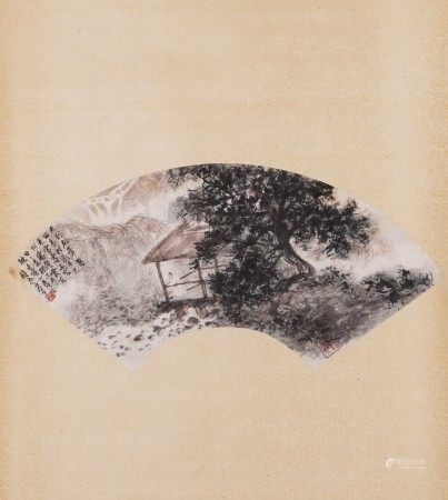 Fu Baoshi, Fan Painting