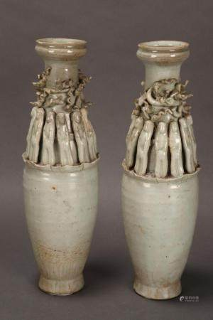 Pair of Chinese Song Dynasty (960-1279) Funerary