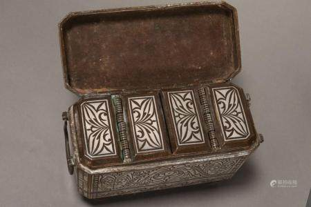 Beautiful Philippines Betel Nut Box and Cover,