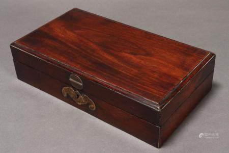 Beautiful Chinese Qing Dynasty Zitan Merchants Box