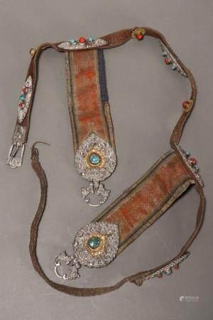 Beautiful Tibetan Late 19th Century Belt,