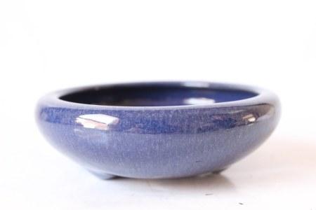 Qing Chinese Blue Glazed Washer