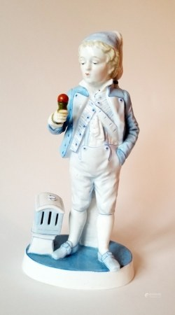 Antique Porcelain KPM Figurine