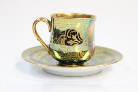 Royal Vienna Miniature Cup& Saucer