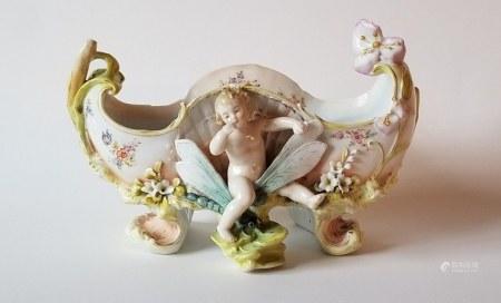 Antique German Porcelain Centerpiece