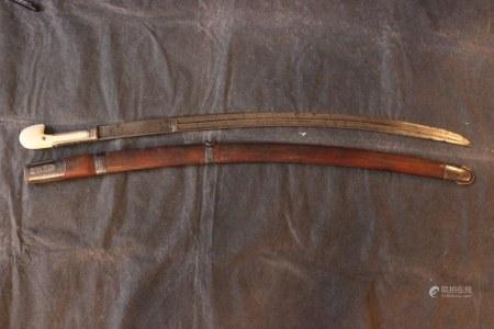 19C Russian Caucasian Shashka Sword
