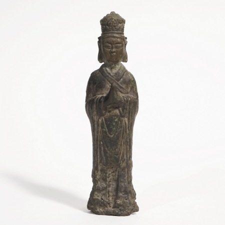 A bronze Buddha, five generations 五代铜佛