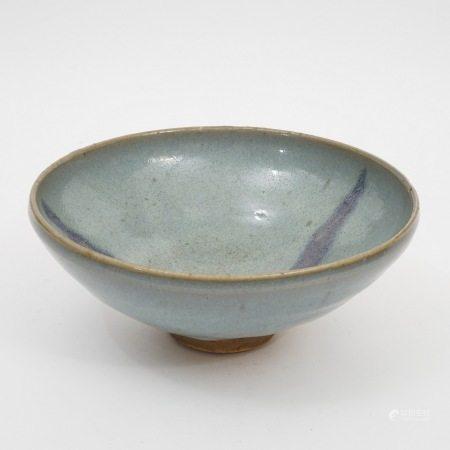 A Jun kiln bowl, Yuan Dynasty 元代钧窑碗