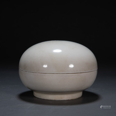 DING WARE POWDER COMPACT, NORTHERN SONG DYNASTY, CHINA