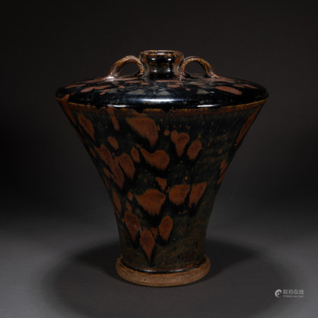 CIZHOU WARE AMPHORA, YUAN DYNASTY, CHINA