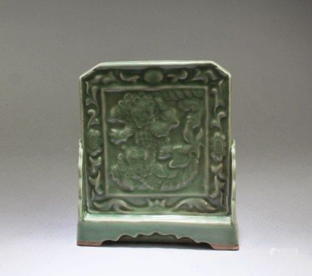 Chinese Porcelain Table-Screen