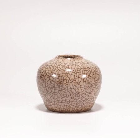 Guan kiln water pot from Song 宋代官窯水盂