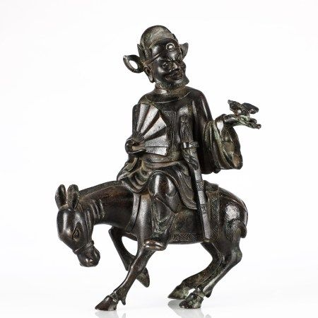 铜制钟馗像