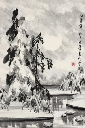 于志學 雪景圖
