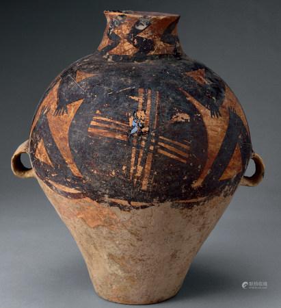馬家窯文化彩陶罐