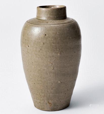 北宋 越窯直口罐
