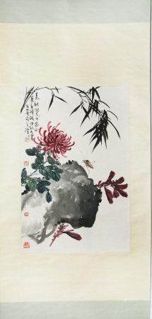 現當代 孫其峰、蕭朗、李萬春、溥佐 花卉
