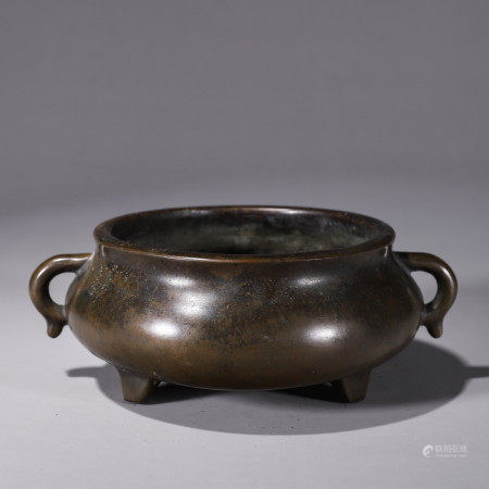 Chinese copper censer