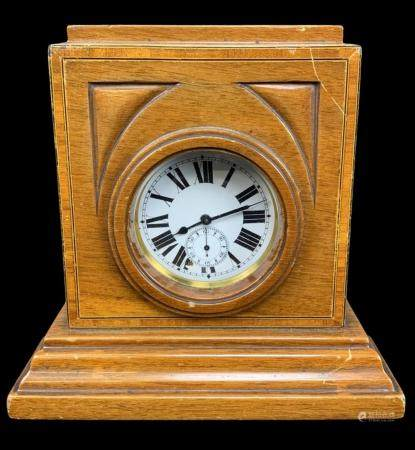 Art Deco Pocket Watch Mantel Clock Display