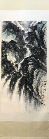 chinese painting by li xiongcai