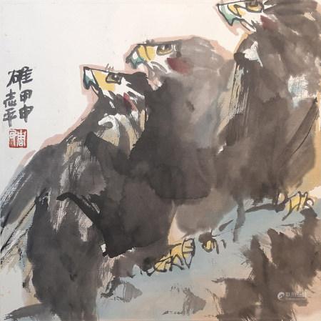 周志平 鷹