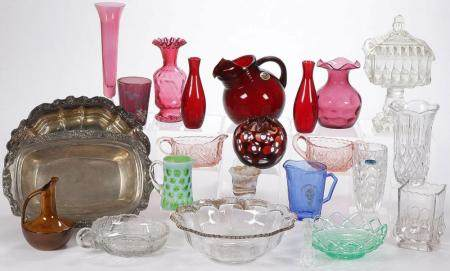 24 PIECES GLASSWARE & OTHER GROUP