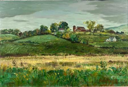 """Bennington, VT"" Landscape by Emmett Fritz"