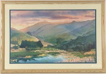 Douglas Hirn Watercolor Landscape