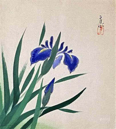 Mid Century Chinese Watercolor