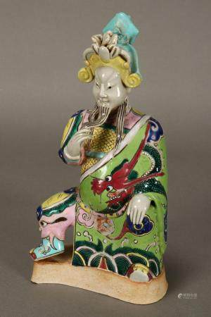 Chinese Qing Dynasty Porcelain Emperor,