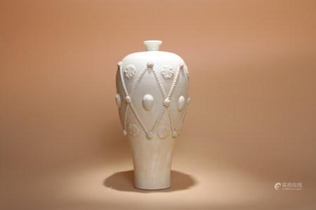 宋 定窯梅瓶