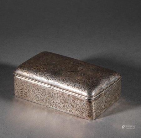 An European Silver Compact歐洲銀質粉盒
