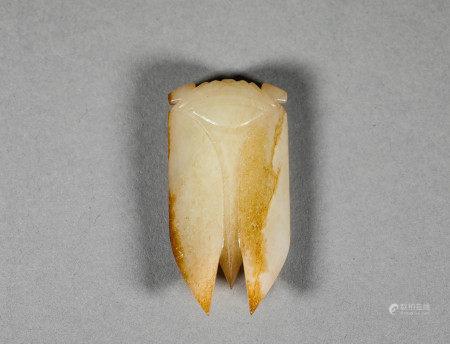 Hetian Jade Cicadas from Han Dynasty漢代和田玉玉蟬