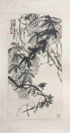 Xu Lingru Flower and Bird