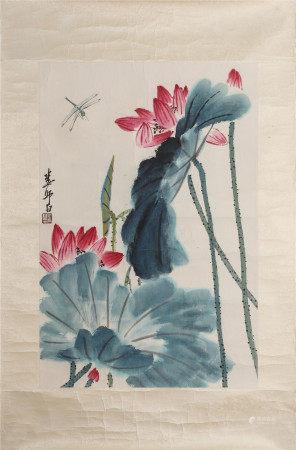 Lou Shibai, lotus