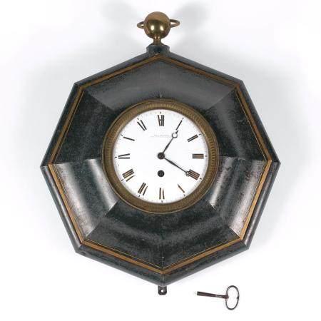 PAUL GARNIER HORLOGE MURALE Wall clock by Paul Garnier, circa 1900.