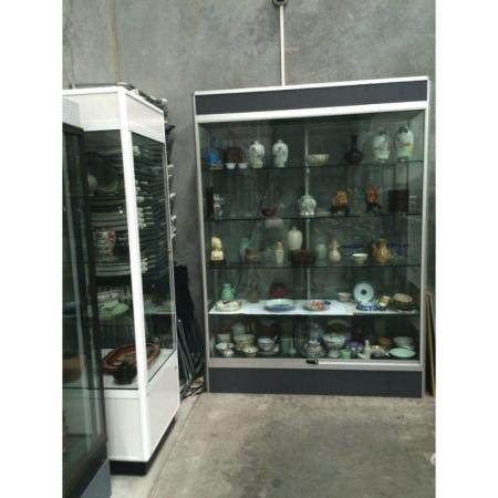a large tow doors cabinet
